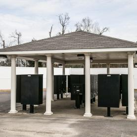 Covered Mailbox area near the Apartments - Mosswood Estates offers online rent payment